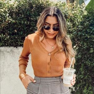 Leith Ribbed Top